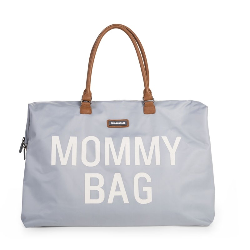 Wickeltasche XXL Mommy Bag Grau Childhome, Geschenkidee Mutter