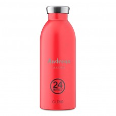 Thermosflasche 0,5L zu personnalisieren, Clima 24 Bottles, Hot Red