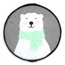 Spielsack 3 in 1 Playmat Play & Go Soft Polar Bear