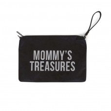 Mommy's Treasures Clutch schwarz Geschenkidee Muttertag Childhome