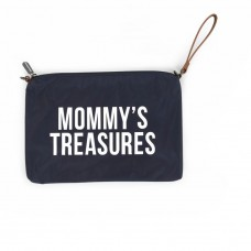 Mommy's Treasures Clutch navy Geschenkidee Muttertag Childhome