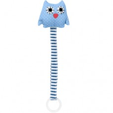 Nuggikette blaue Eule Play & Go