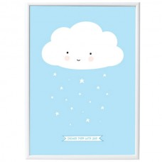 Baby Poster Wolke