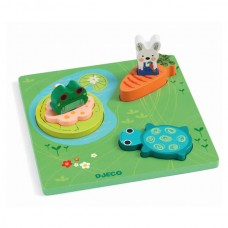 Steckpuzzle Froggy