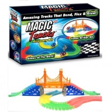 Tower Bridge Kit für flexible Autorennbahn, Magic Tracks