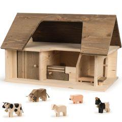 Stall Trauffer Holzspielwaren 100% Schweiz, Geschenkidee, Gratis Versand