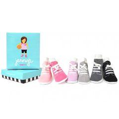 Baby Socken, Das perfekte Geschenk zur Geburt Baby Girl, Jennys, 0-12 Monate