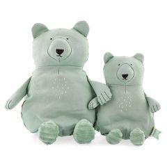 Trixie Plüschtier Bio-Baumwolle, nachhaltige Stoffe, 2 Größen zur Auswahl, ab Geburt, Eisbär