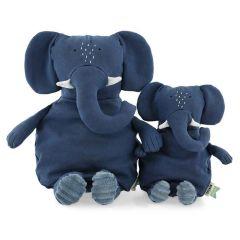 Trixie Plüschtier Bio-Baumwolle, nachhaltige Stoffe, 2 Größen zur Auswahl, ab Geburt, Elefant