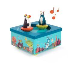 Spieluhr Tukan und Koala , Geschenkidee zur Gebut eines Baby, Moulin Roty, Schweizer Online Shop