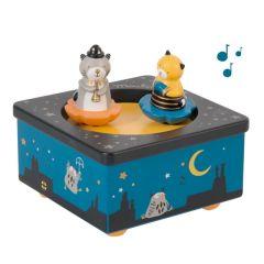 Spieluhr Les Moustaches Spezielle Geschenke zur Geburt Moulin Roty