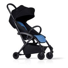 Kinderwagen Bumprider mit Gratis Wickeltasche, Buggy schwarz und blau, Gratis Versand