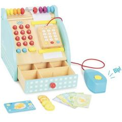 Spielzeug Kasse aus Holz mit Geräuschen, Vilac