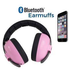 Gehörschutz mit Bluetooth, Kinder 0-3 Jahre alt, Banz rosa