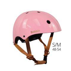 Kinder Helm Bobbin S/M 48-54cm  für Kinder ab 2, Retro Style pink rosa