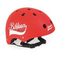 Fahrrad Helm Bikloon Rot