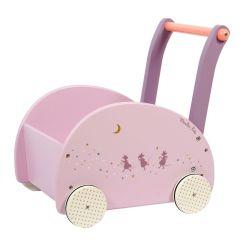 Lauflernwagen Mädchen ab 12 Monate, das ideal Geschenk für Baby, Moulin Roty