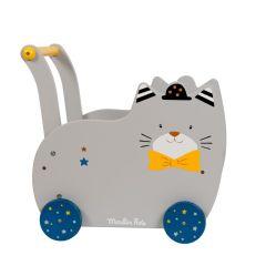 Lauflernwagen ab 12 Monate, das ideal Geschenk für Baby, Moulin Roty Fernand