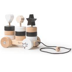 100% Schweizer Nachziehwagen Stapelringe, Spielzeug Kynee, Junge und Mädchen, Online Shop Schweiz