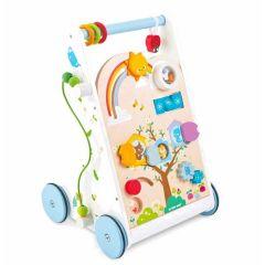 Lauflernwagen mit 10 verschiedene Spielmöglicheiten, für Junge oder Mädhcen ab 1 Jahr, Le Toy Van, Gratis Versand