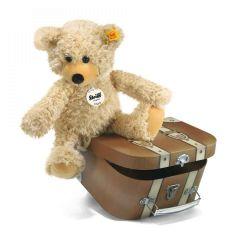 Charly Schlenker-Teddybär im Koffer, Steiff Premium-Geschenkidee