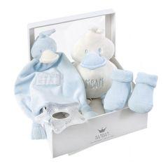 Baby Geschenkset blau