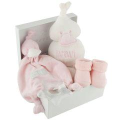 Baby Geschenkset rosa, Geschenkidee zur Geburt eines Mädchen Gratis Versand, Schweizer Online Shop