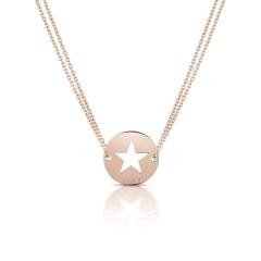 Personalisierte Mutterkette, Halskette mit Kindernamen, Mutterschmuck, Rosé Gold Aaina & Co