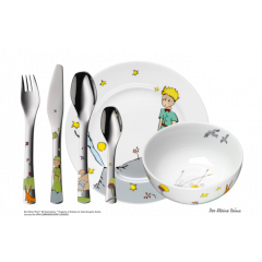 Kinderbesteck-Set 6-teilig der kleine Prinz Geschenkidee Personalisiert WMF