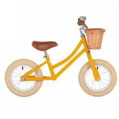 Laufrad Bobbin Balance Bike für Mädchen und Junge 12'', gelb