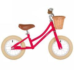Laufrad Bobbin rot Balance Bike für Mädchen und Junge 12''