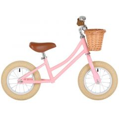 Laufrad Bobbin Balance Bike für Mädchen 12'', pink