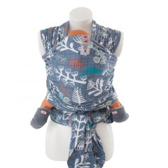 Babytragetuch 100% hydrophiler Baumwolle selber Nähen, Lodger Ocean