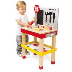 Kinder Werkbank XL Bricolo Redmaster Janod