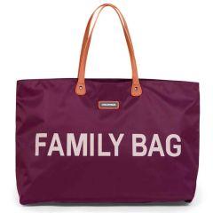 Wickeltasche Childhome Family Bag Aubergine