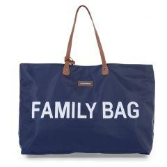 Wickeltasche Family Bag blau, Geschenkidee Muttertag