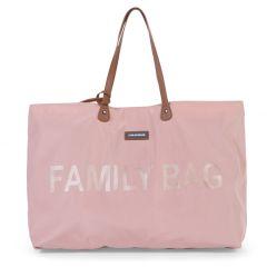 Wickeltasche Family Bag rosa, Geschenkidee Muttertag