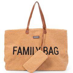 Wickeltasche Family Bag Teddy, Geschenkidee Muttertag