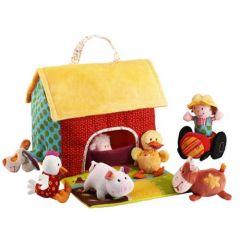 Der Bauernhof und seine Tiere, Weihnachtsgeschenk für Baby ab 6 Monate, Lilliputiens