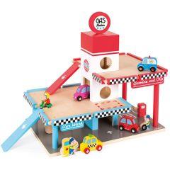 Garage Holzspielzeug Janod, Gratis Versand, Schweizer Online Shop