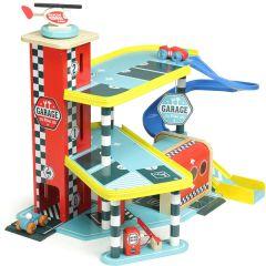 Autogarage Vilacity Spielzeug Junge ab 3, Top Holz Spielzeug Vilac