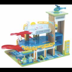 Spielzeug Garage mit Parkhaus aus Holz Le Toy Van, Gratis Versand, Schweiz