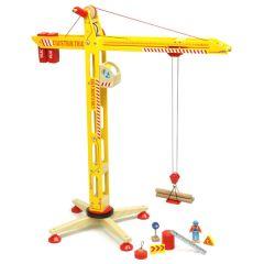Kran aus Holz Spielzeug für Junge ab 3, Vilac