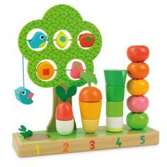 Lern Gemüsegarten Spielzeug Vilac
