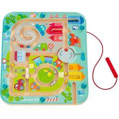 Haba Spiel, Magnetspiel Stadtlabyrinth, ab 2 Jahre alt