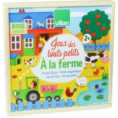 4 Spiele für kleine Kinder ab 2 Jahre alt, Bauernhof