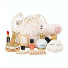 Holz Spielzeug, Beauty Set Kosmetiktasche, Mädchen 3 Jahre alt, Le Toy Van.