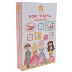 Zeichnen lernen für Mädchen Schritt für Schritt ab 5 jahre alt Tiger Tribe