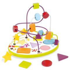 Looping Puzzle Formen & Farben Janod