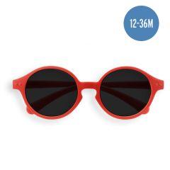 Kinder Sonnebrille 1 bis 3 Jahre alt, rot Izipizi